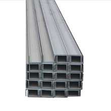 construction company profiles Q235B hot rolled structural steel U channel 100*50*9.36kg/m