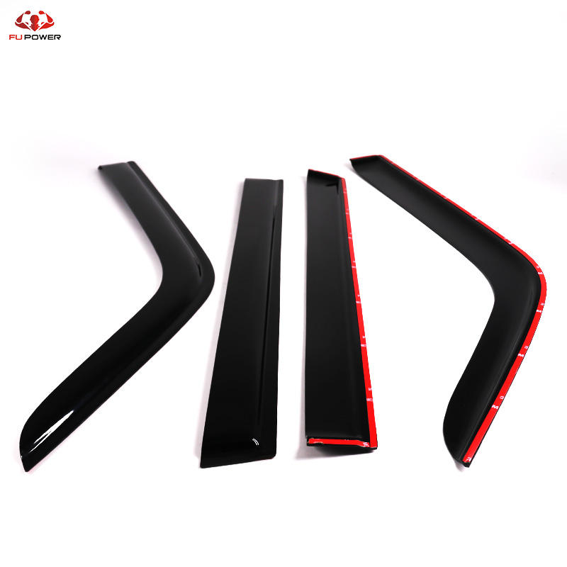 Premium Window Visors Rain Guards For Nissan Patrol GU Y61 97-19 4pcs (T)