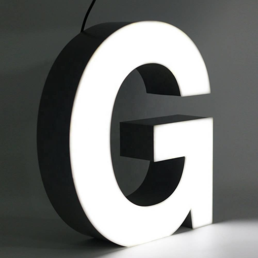 3d Led Sign New Style Frontlit Acrylic Face 3d Led Sign Channel Letter