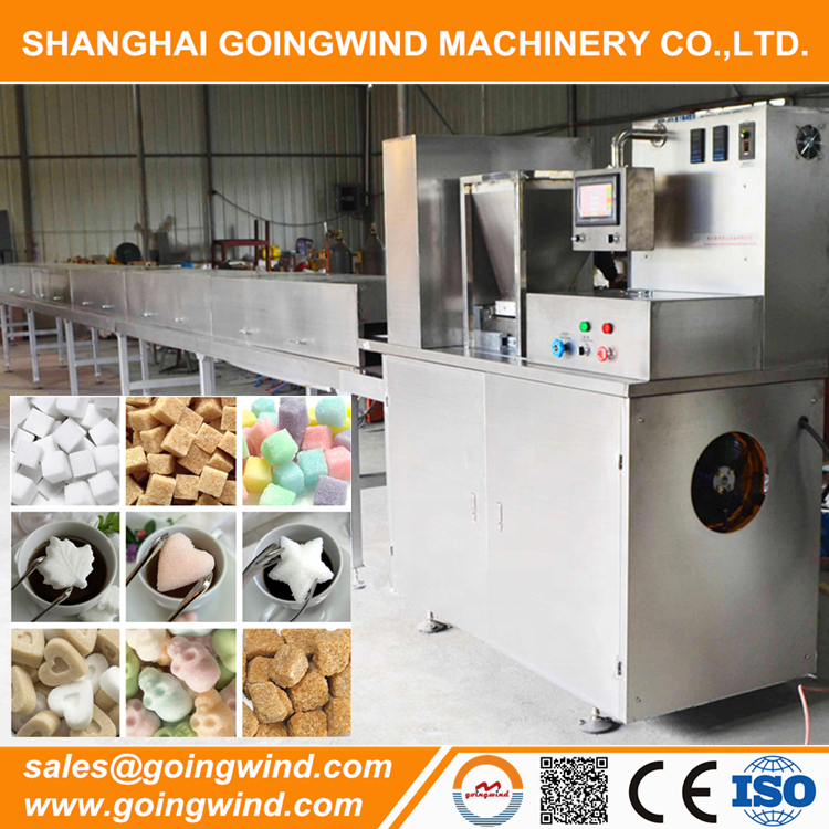 Automatic sugar cube press machine auto lump sugar cubes forming equipment cheap price for sale