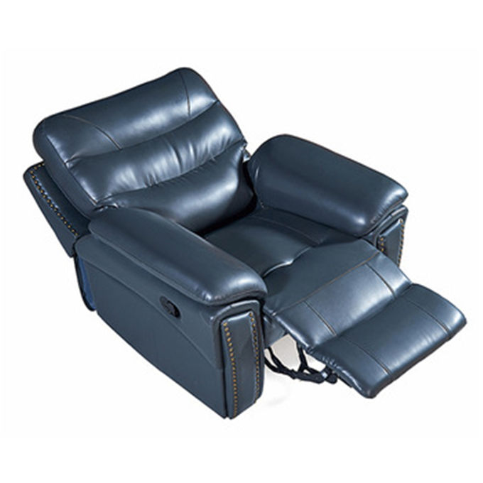Best Leather Home Theatre Lounge Single Seat 7 Seater Recliner Sofa Set GN5395