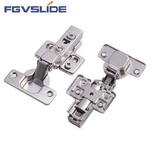 Furniture hardware accessories hinge 35 mm two way soft close concealed hydraulic kitchen cabinet hinge
