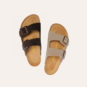 wholesale fashionable summer casual flat platform strappy cute rubber prinium orthopedic open toe women sandals footwear