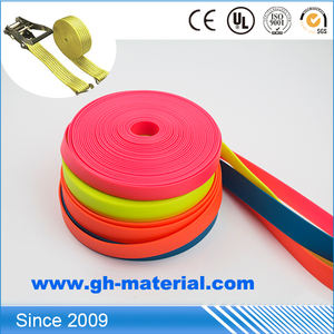 Polyester Sling Lifting Belt Pp Cotton Tape Black Nylon Webbing 20Mm