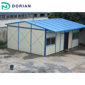 Light Steel Structure Building Low Cost Prefab House