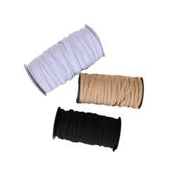 Custom Elastic Band 3mm 4mm 5mm 6mm 8mm Flat Elastic Cord Stretch Webbing