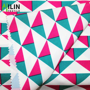 Waterproof pongee PU coated 100D polyester fabric for sublimation printing