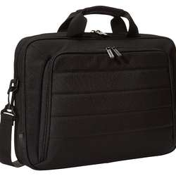 17.3 inch laptop and tablet bag shoulder bag, black