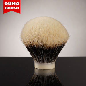 OUMO- SHD Manchuria finest two band badger hair knot with good gel tip finest shaving brush knot
