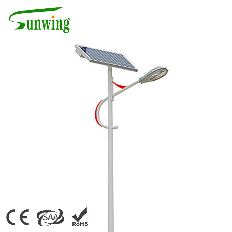 New street lamp solar light outdoor with BV SGS TUV certification