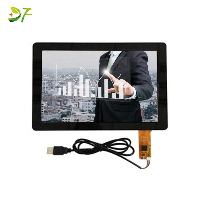 Chinese factory 10.1 Glove touch customized 10 touch points lcd capacitive touch panel
