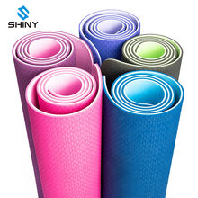 OEM Logo Fitness Mats TPE Eco Friendly Washable Natural Yoga Mat