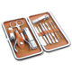 2020 Manicure factory latest design 18 in 1 personal care tools nail clipper set manicure pedicure set kit