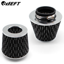 DEFT Car Universal Air Filter 3/4 inch for Cold Air Intake High Flow 65mm 70mm 76mm 100mm Performance Breather Filters