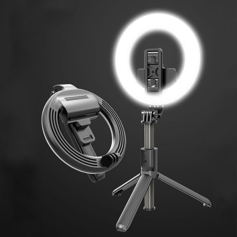 Hot Selling 2020 Amazon 5Inch Make Beauty Ring Light Tripod For Smartphone With Tripod Stand Photographiclighting Selfie Stick