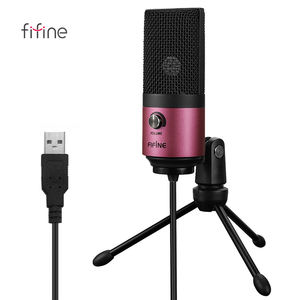 Fifine K669 Rose Red Usb Opname Microfoon Perfect Voor Studio