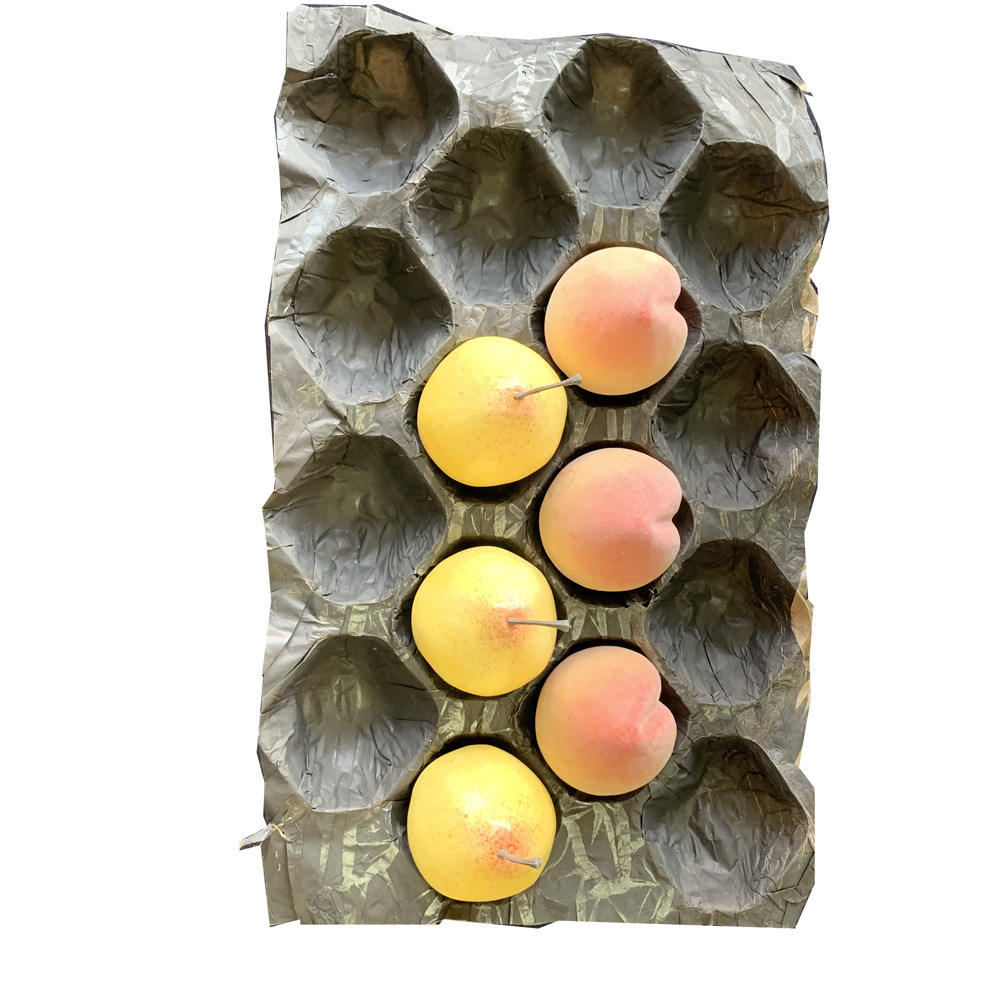 Disposable Fruit packaging Kraft paper multi layer Tray Liners For Tomato