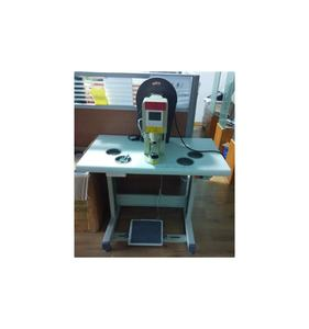 semi automatic metal shoelace tipping machine