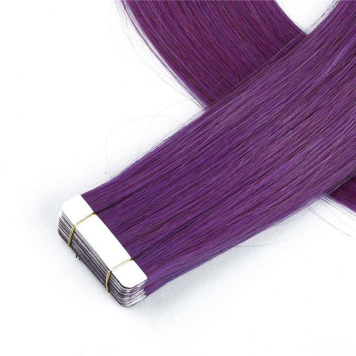 Hot Selling Tape In Human Hair Extensions Wholesaler Grade 8A Virgin