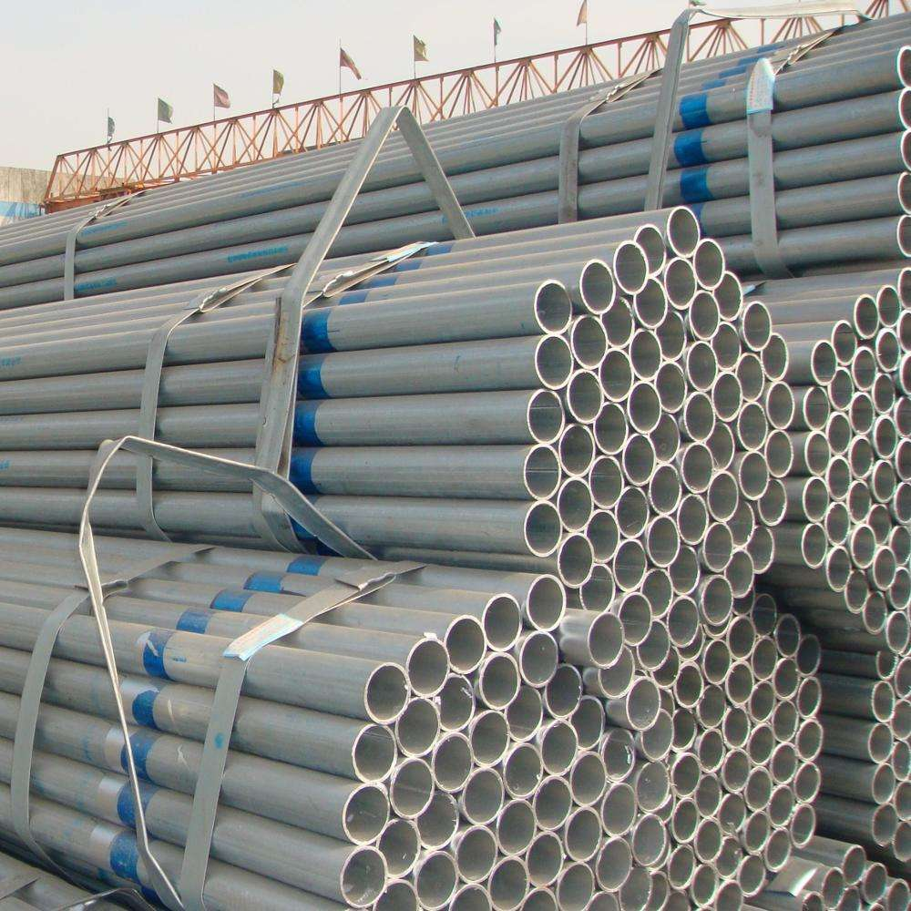Galvanized steel pipe GI steel tube for bridge application