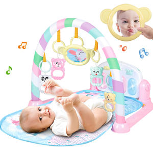 Infant Crawling Mat Children Musical Early Education Toys Toddlers Play Gym Mat Piano Play Mat For Baby
