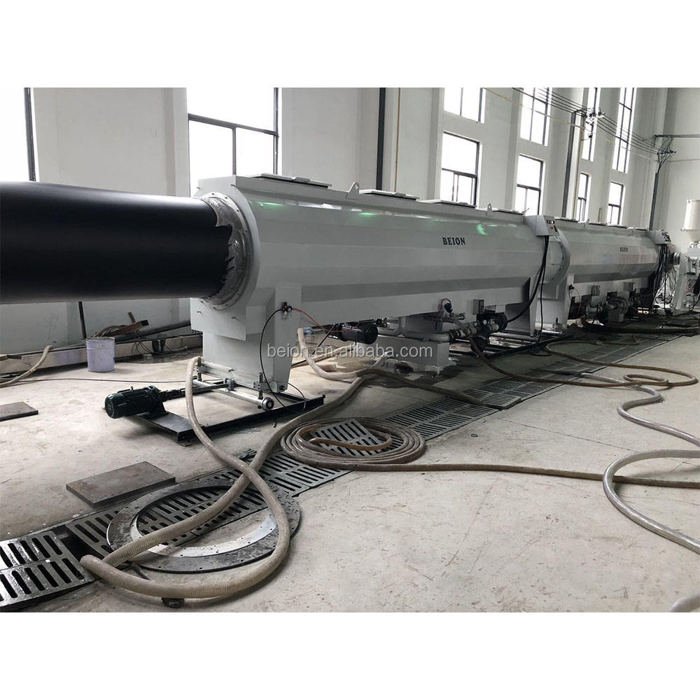 BEION Plastic machinery high extruding speed HDPE Pipe extrusion machine With advanced single screw extruder