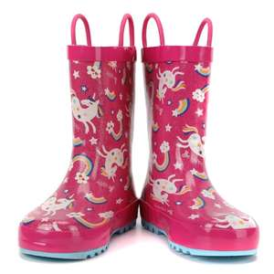 Manufacture Durable rubber rainboots girls
