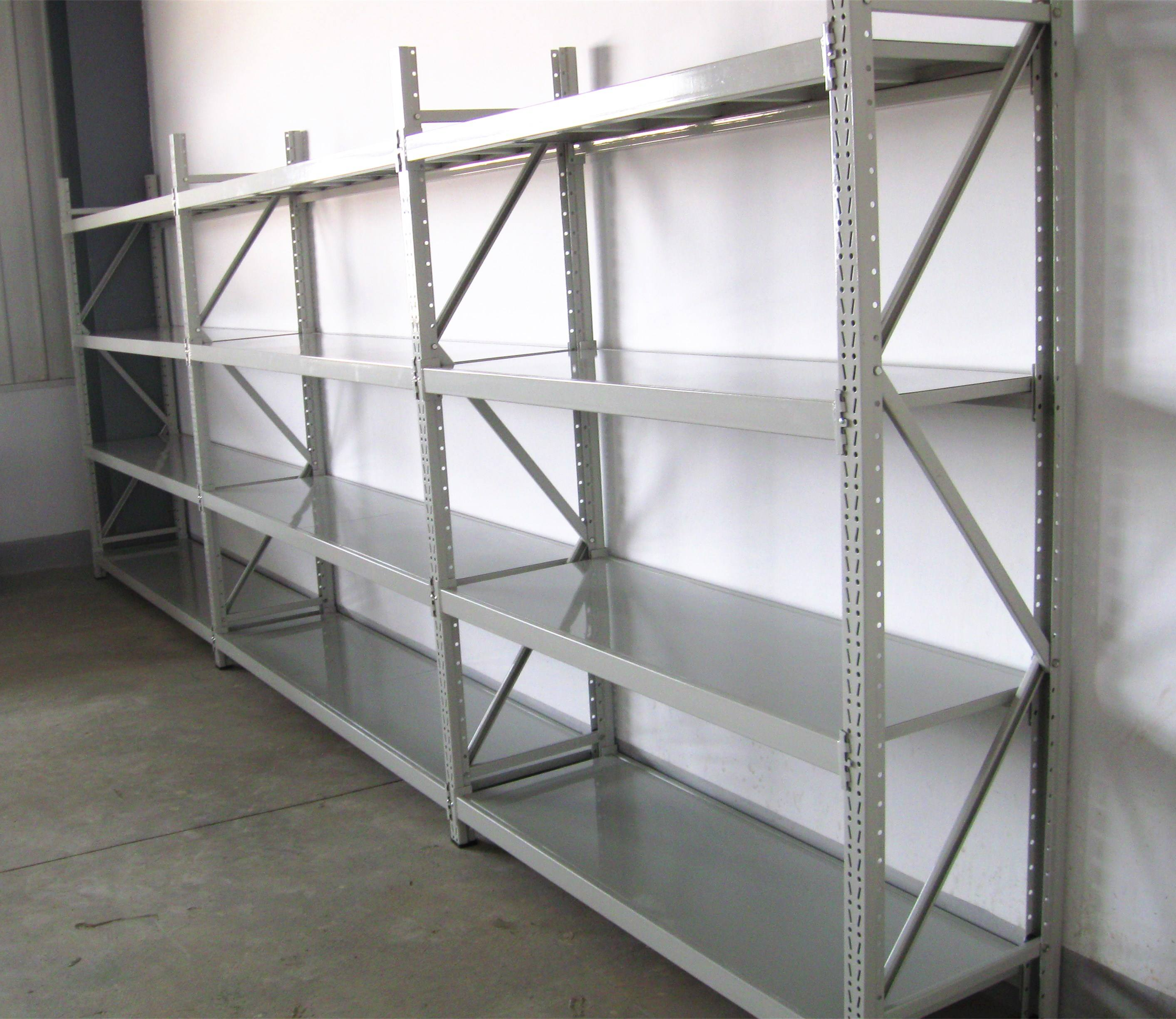 Supermarket [ Supermarket Storage ] Steel Long Span Heavy Duty Shelving For Supermarket Storage