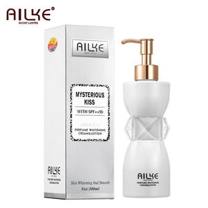 Ailke Terbaik Nikotinamida Body Butter Anti-Wrinkle Pelembab Whitening Body Lotion