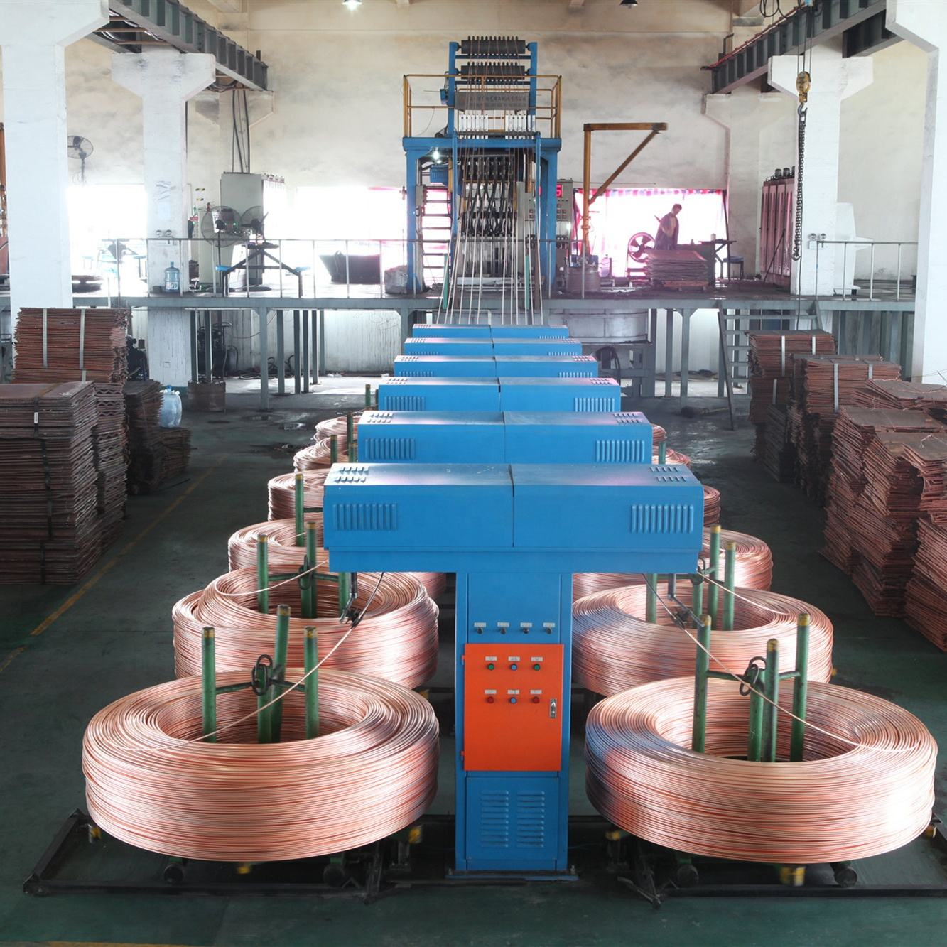 CCM Continuous casting machines for rod induction furnace copper upcast machine