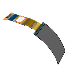 New product 1.5 Inch Flexible Bar Lcd Display MIPI Interface Full View High Contrast Bend Amoled OLED Display For Wearable
