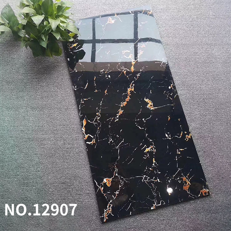Dark marble texture tile 600X1200 bar, high-end long shape floor tile, ceramic bathroom wall and floor tile