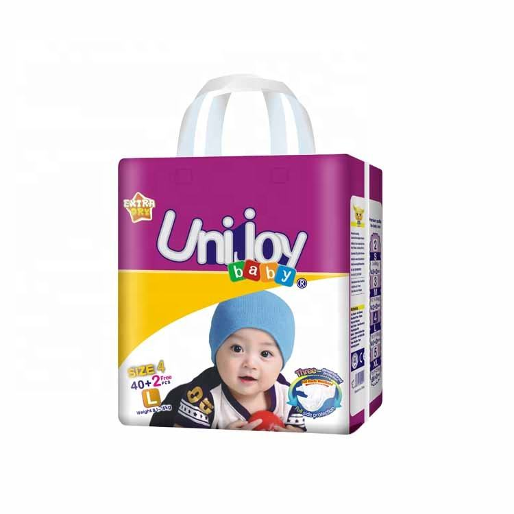 Competitive Price Disposable 100% Cotton Printed Baby Diaper Manufacturer from China
