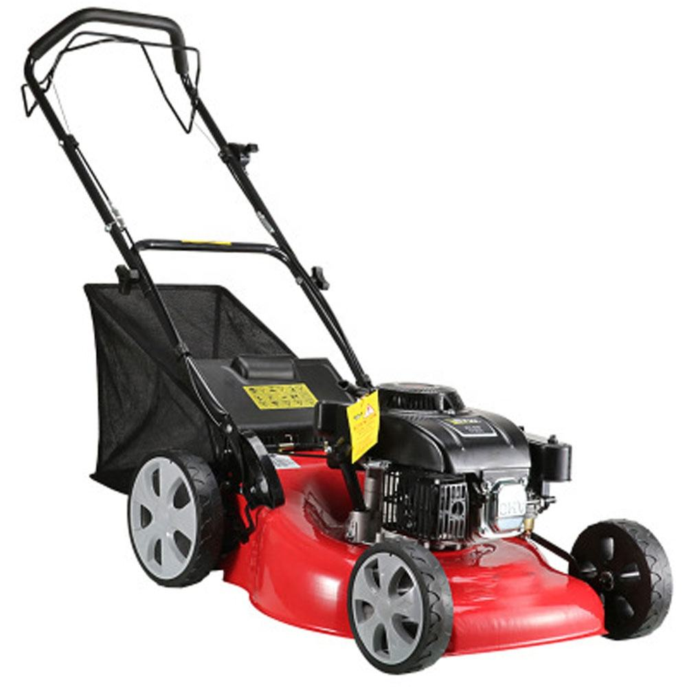 Factory Direct Gasoline Powered Hand Push Rear Lawn Mower
