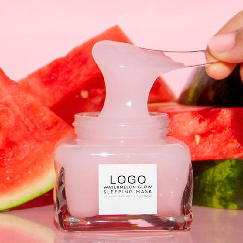 OEM Deep Hydrating Moisturizing Natural Vegan Watermelon Face Cream