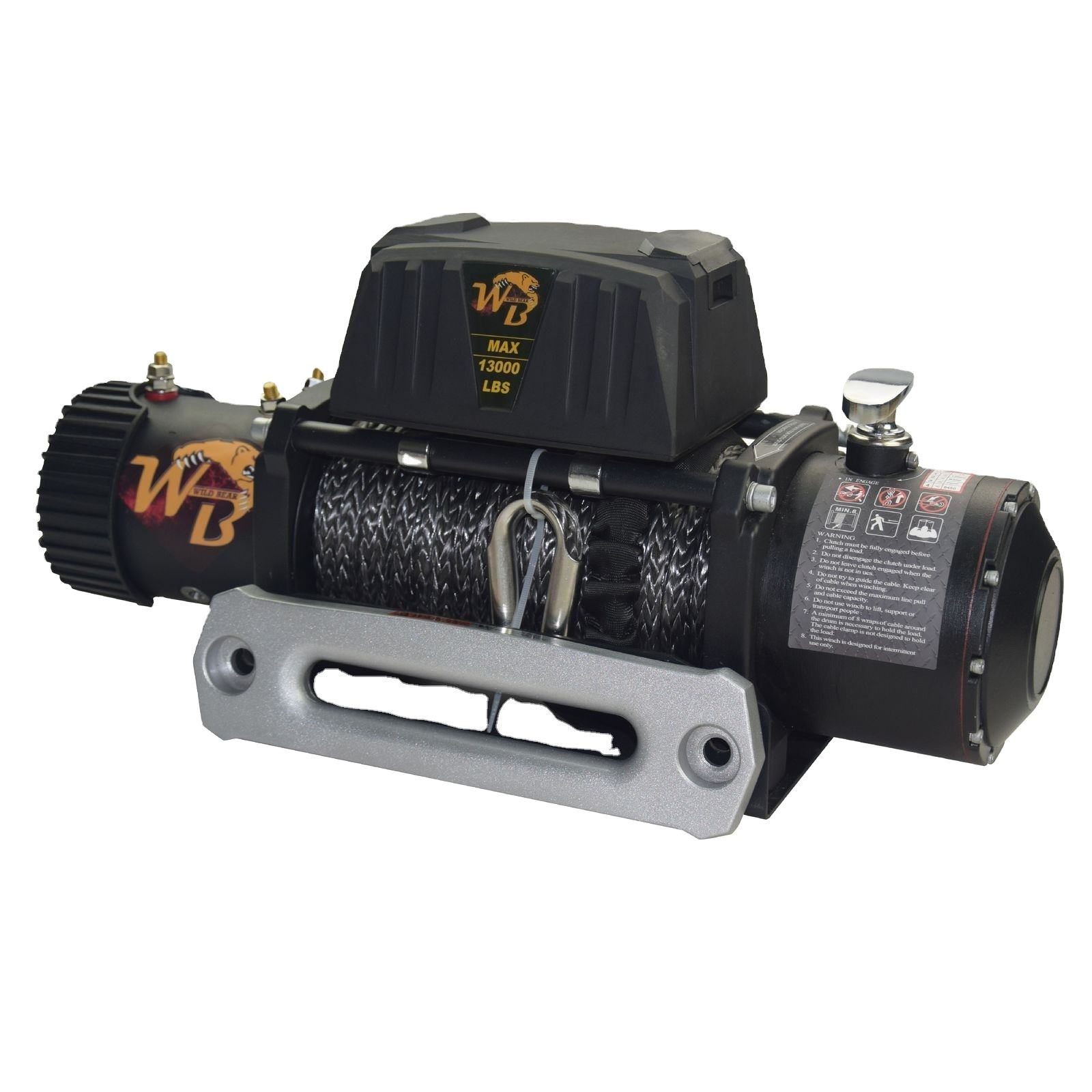 13000lbs winch(5897kg) Capacity Heavy-duty 4WD electric winch 12v for 4x4