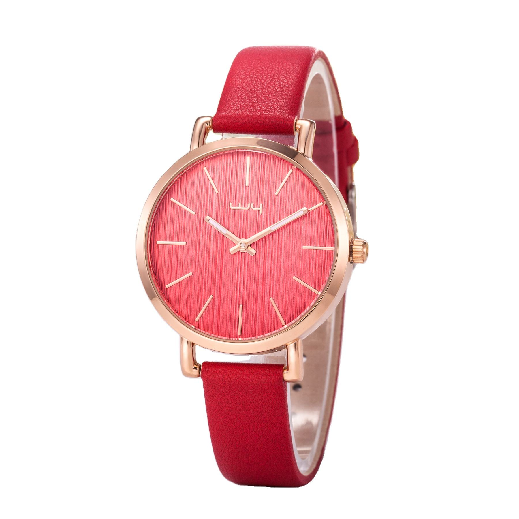 WY-119 women latest fashion couple watch best festival gift OEM LOGO quartz watches with gift box