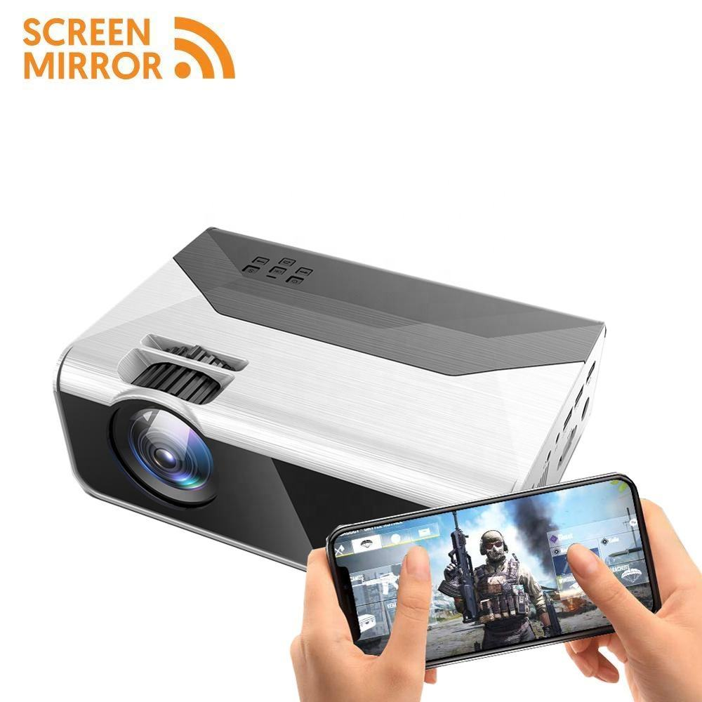 [Mini 720p Projector ] OEM ODM Factory Cheap High Performance Mini LED Portable LCD Home Theater Projector