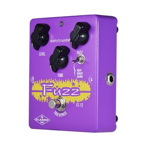 BIYANG FZ-12 Classic Series Analog Fuzz Guitar Effect Pedal 3 Modes True Bypass Full Metal Shell