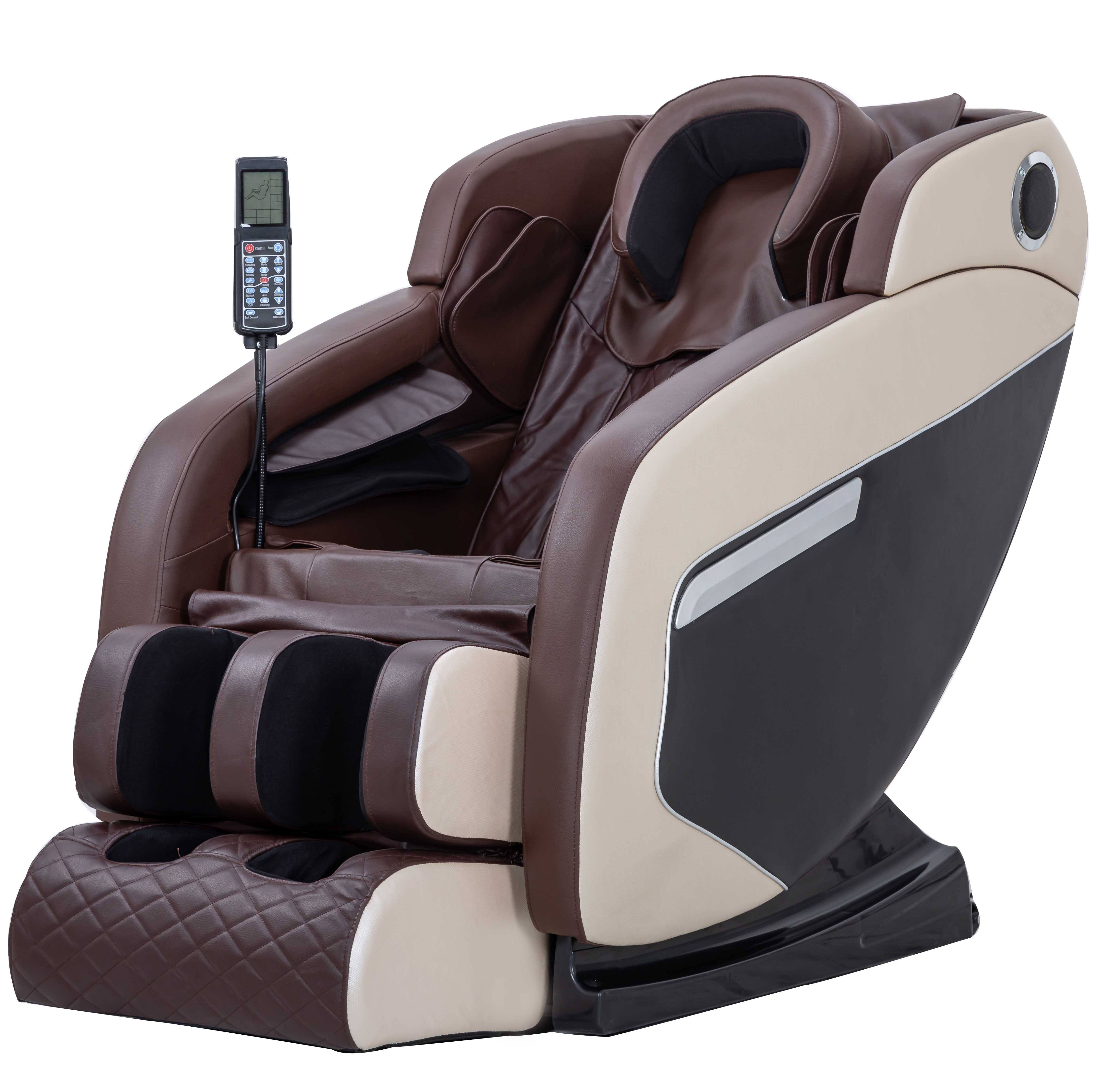 Massager Massager 4d 0 Gravity Full Body Electric Luxury Kneading Tapping Massage Chair Home