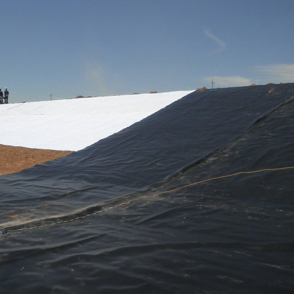 1.5Mm 1Mm Dikte Astm GM13 Hdpe Liner Waterdicht Membraan Stortplaats Geomembrane