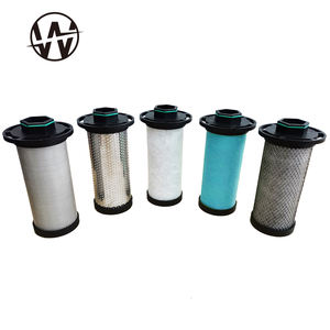 Precision compressed air filter for air compressor system