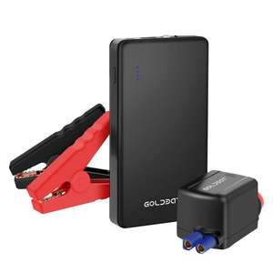 Multi-funktionale Besten Tragbare Auto Batterie Booster 8000mAh Auto Jump Starter mit Schnell Ladung Port 12v