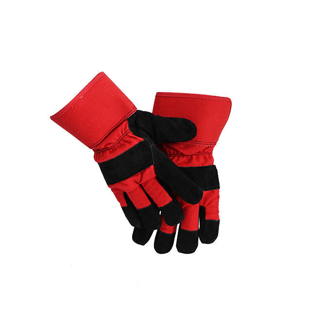 Premium Men's Leather Protection Work Welding Working Gloves