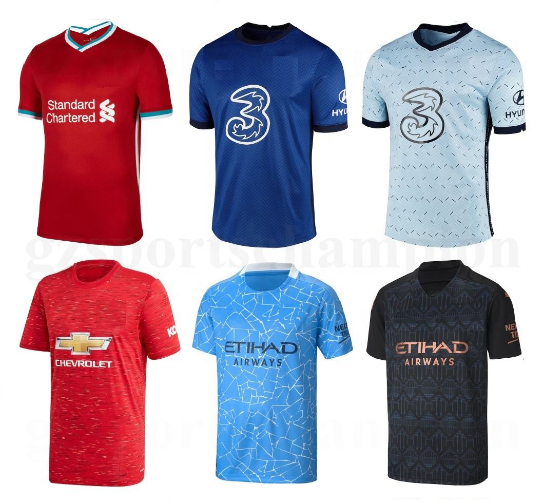 Sportswear Man Soccer Wear Blank Soccer Shirts Wholesale Real City Thailand Quality Shirt Football Soccer Shirt