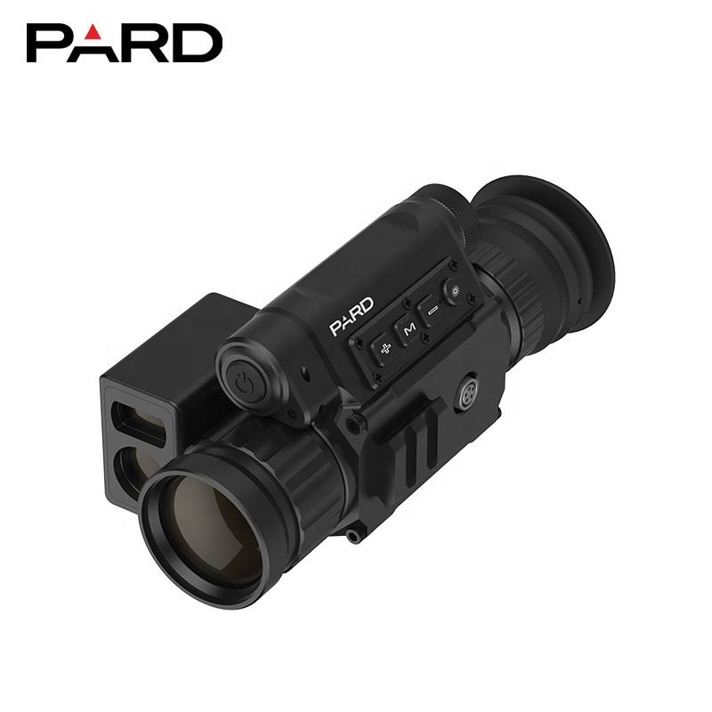 Pard SA-45LRF Thermal Imaging hunting scope with rangefinder Outdoor Observation mounted on rifile More lens could choose.