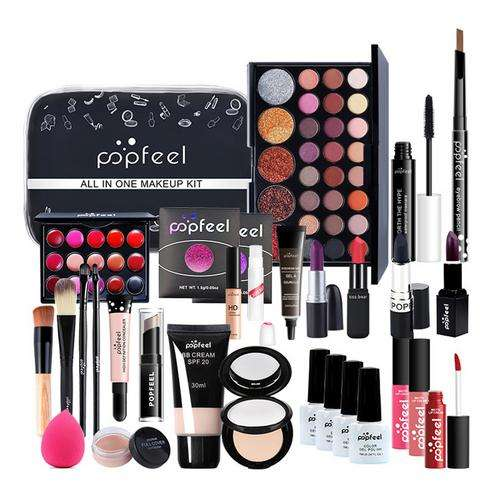Makeup Set with Eyeshadows Lipstick Concealer Cosmetics Kit for Women Girls