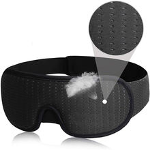 Breathable Sports mesh 3D Hidden Nose Eyeshade Sleeping Eye Mask Portable Travel Sleep mask