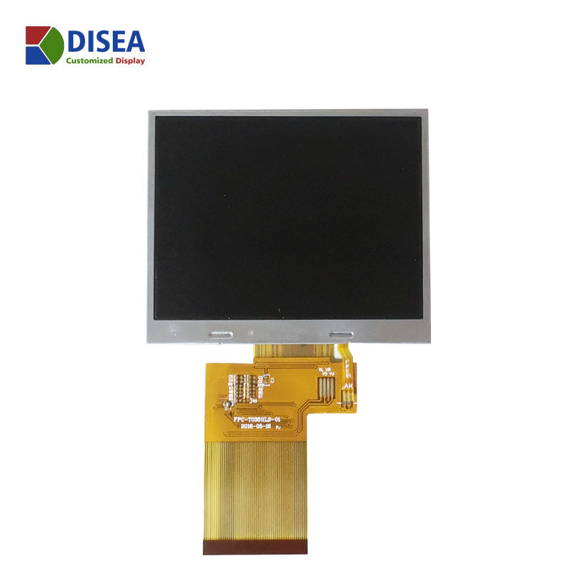3.5'' 320 *240 touch sensitive screen home automation lcd panel lcd display