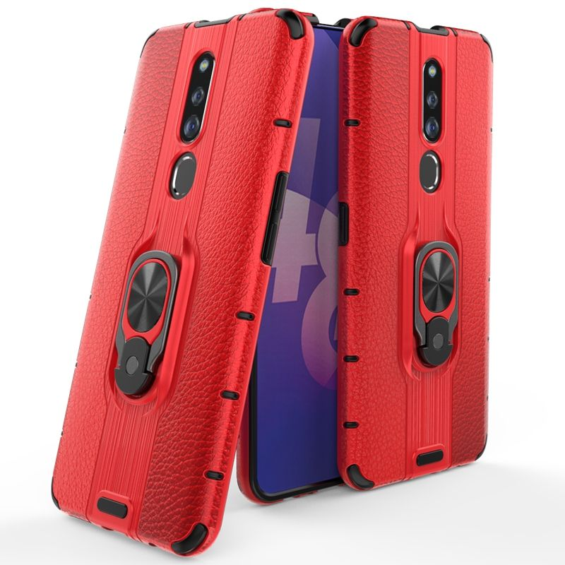 Hot Sales Duotone 2 in 1 Hybrid Shockproof Heavy Duty Kickstand <span class=keywords><strong>Mobiele</strong></span> <span class=keywords><strong>Telefoon</strong></span> Schokbestendig Case Voor Oppo <span class=keywords><strong>F11</strong></span> Pro K3 realeme X